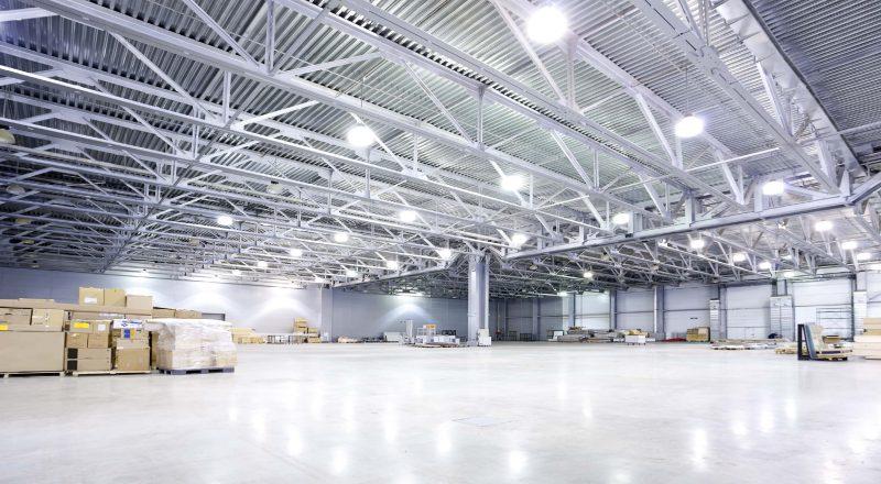Đèn chiếu sáng cho nhà máy trong khu công nghiệp