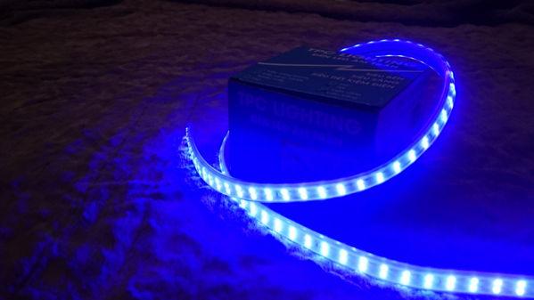 Led dây 3014 xanh dương .