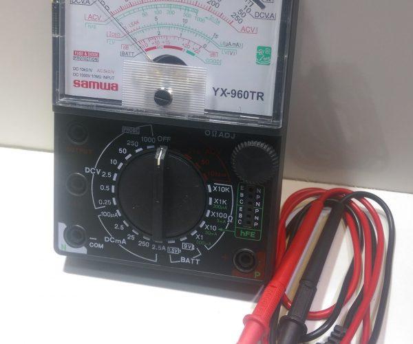 Đồng hồ đo điện vạn năng YX-360 Bao Da